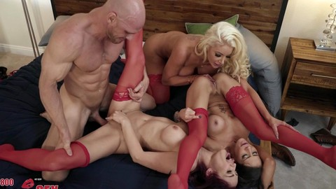 Madison Ivy Monique Alexander Nicolette Shea Johnny Sins