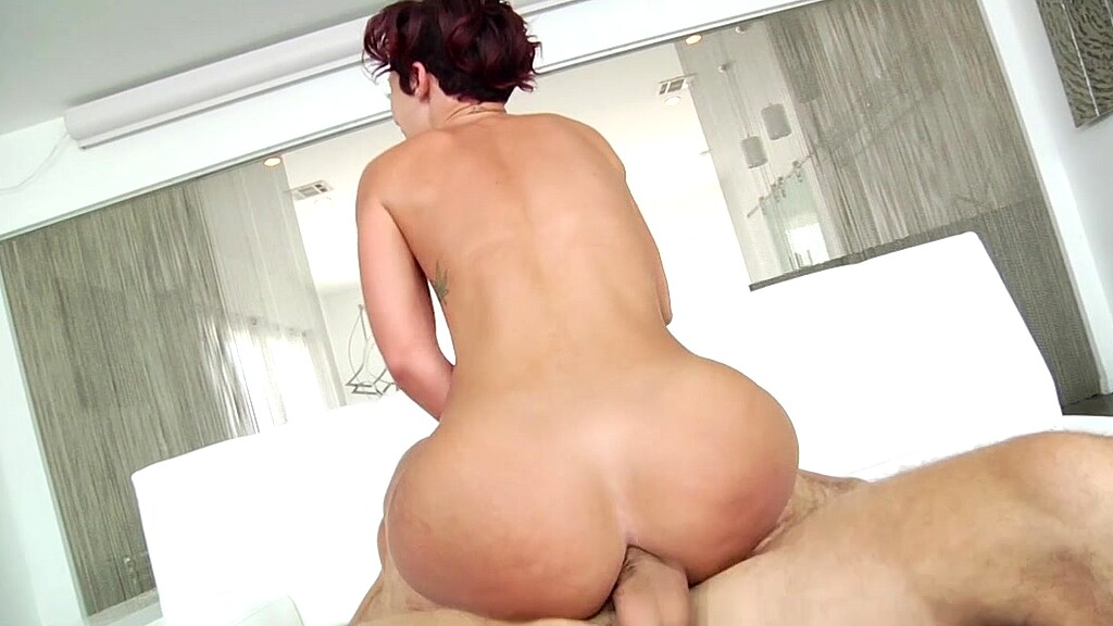Big asses riding cock movies