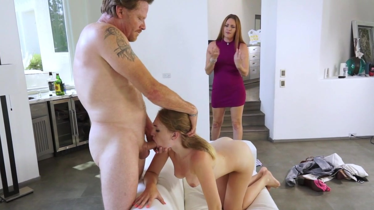 Cheating Husband Almost Caught